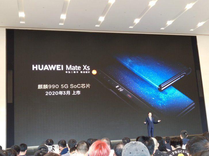 Huawei анонсирует второе поколение смартфона с гибким экраном, встречая Mate Xs