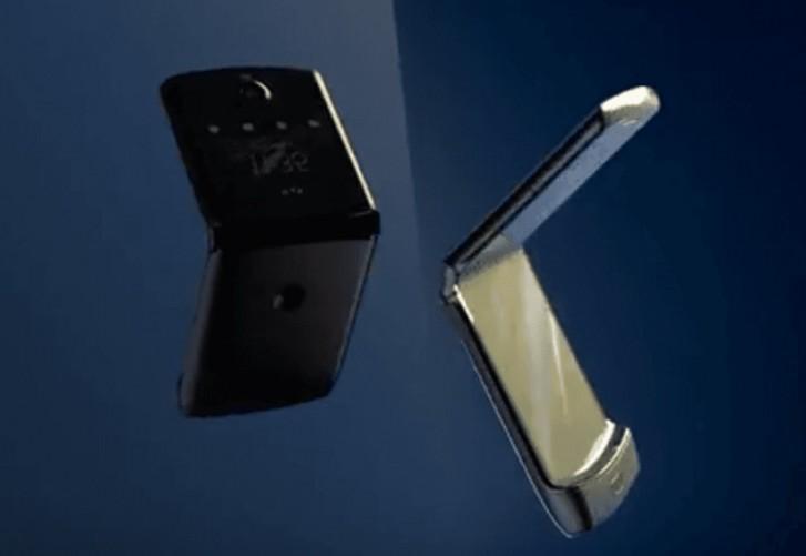 Motorola Razr 2019 на первых официальных рендерингах