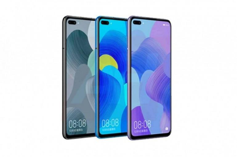 Huawei Nova 6 5G - показывает две линзы спереди [обновление 05.11.2019]