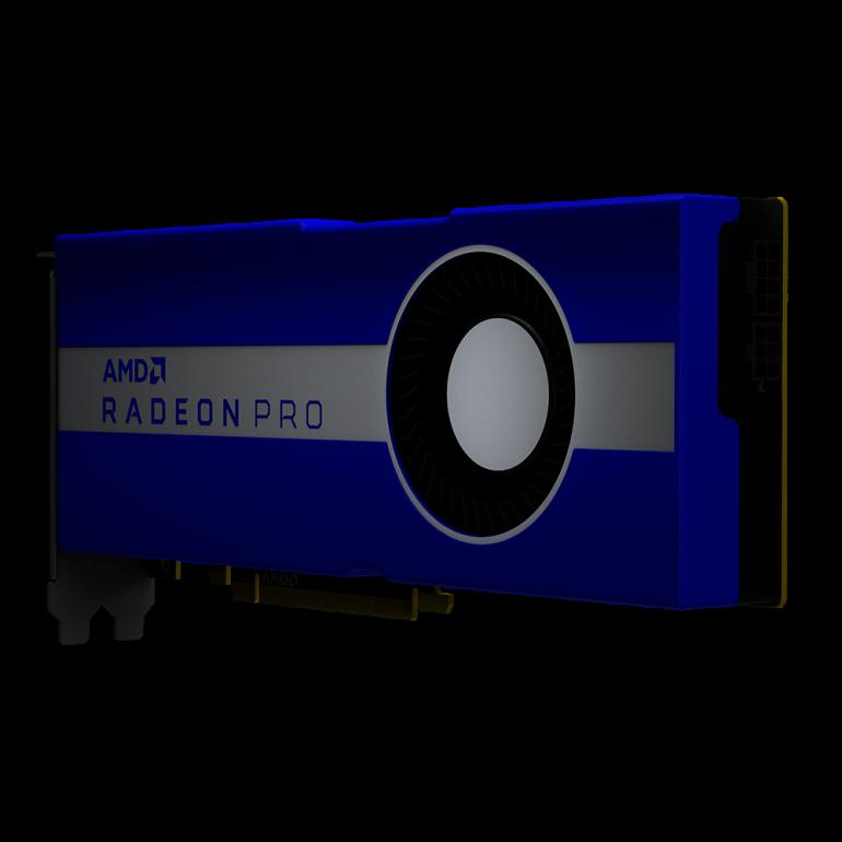 AMD Radeon Pro W5700 - новая карта для профессионалов с RDNA