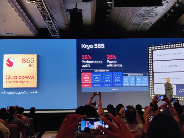 Snapdragon 865: возможности процессора - и будущие смартфоны