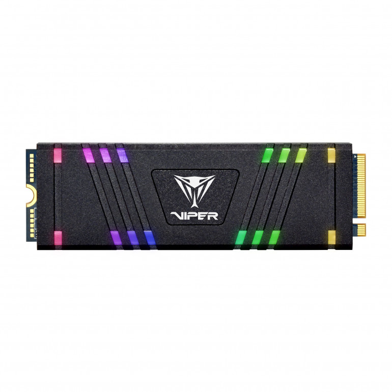 Патриот VPR100 SSD RGB - мощный M.2 SSD с подсветкой RGB