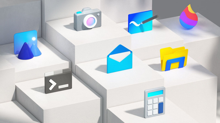 Microsoft обновляет более 100 логотипов своих приложений
