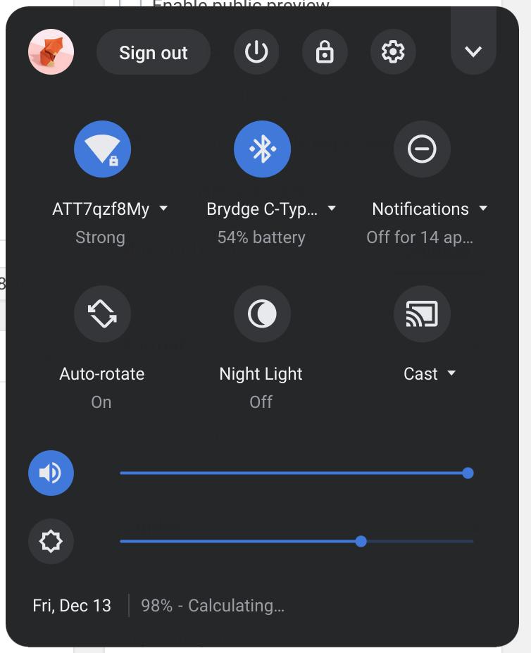 Chrome OS наконец-то заряжает аксессуары Bluetooth