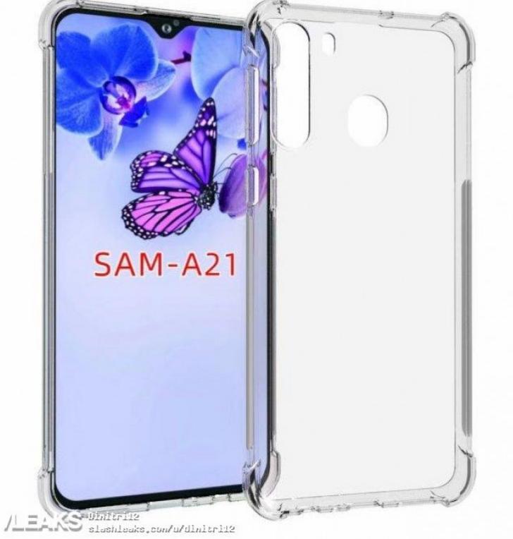 Рендеры показывают возможное появление Galaxy A21