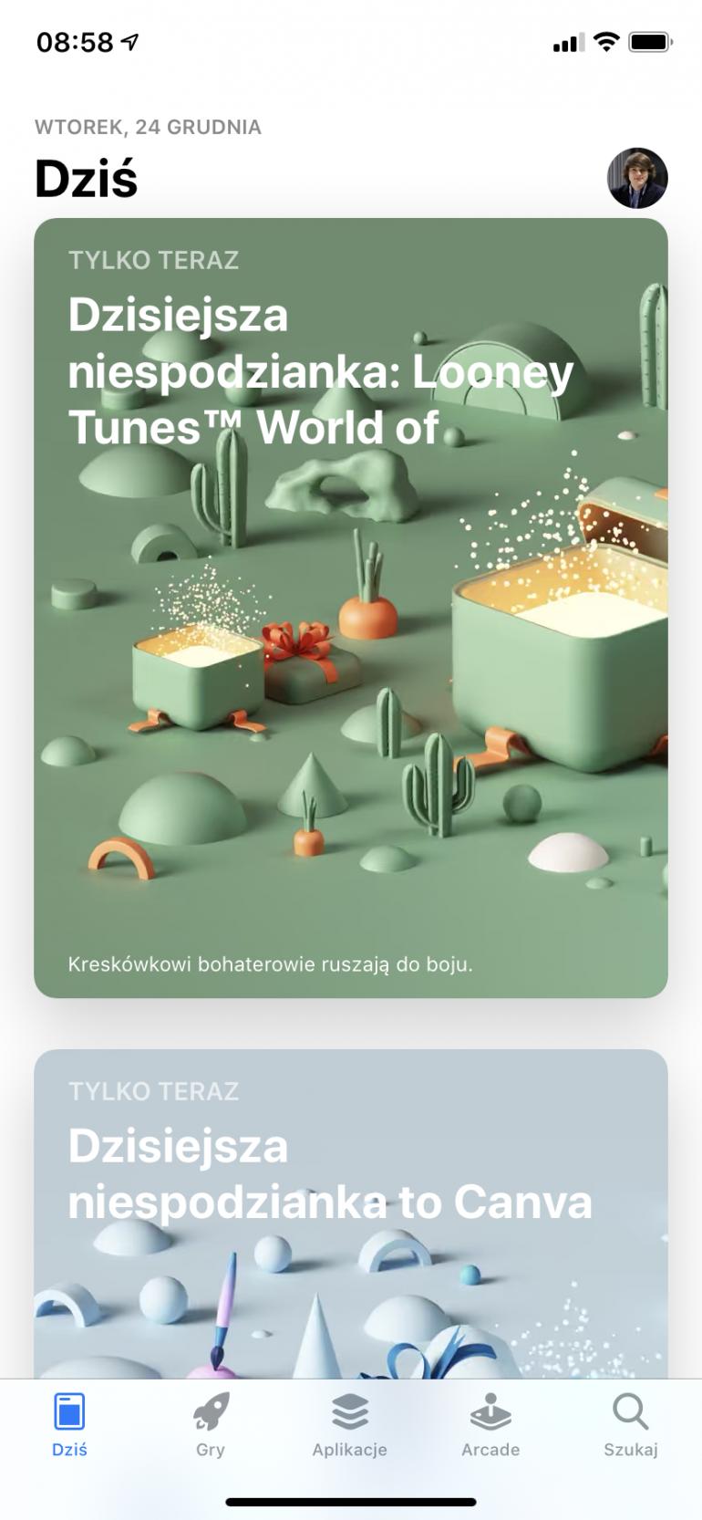App Store с бесплатными рождественскими подарками