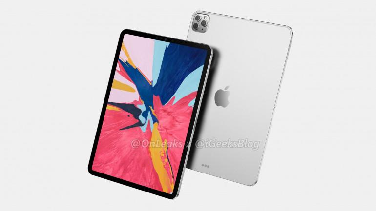 Новые iPad от Apple на первых рендерингах!