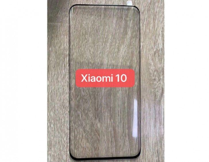 Xiaomi Mi 10 - защитное стекло протекает в сеть на экране
