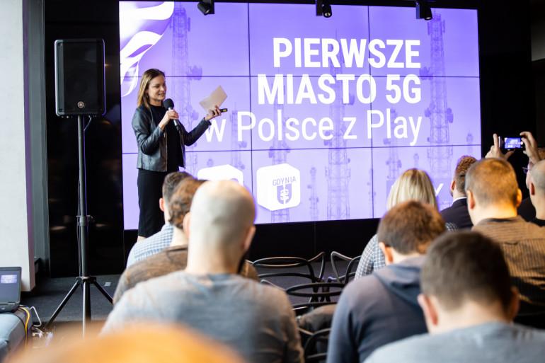 Гдыня - первый город с доступом к 5G от Play