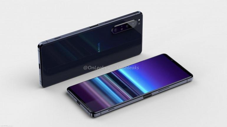 Sony Xperia 5 Plus - фотографии смартфонов в Интернете