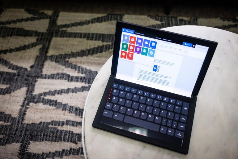 CES 2020: ThinkPad X1 Fold или сложенный планшет за 9,5 тысячи  zł