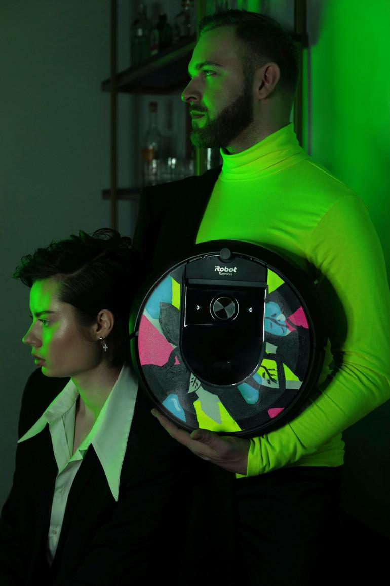 Уникальный iRobot Roomba на аукционе GOCC