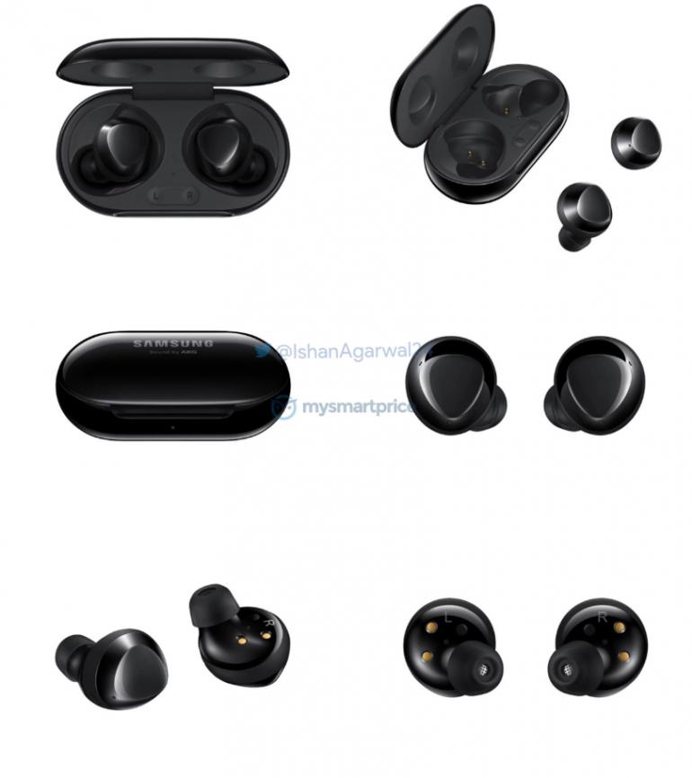 Samsung Galaxy Buds + - другие рендеры наушников True Wireless просачиваются в сеть