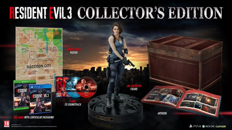 Resident Evil 3 - отличное коллекционное издание также отправится в Европу