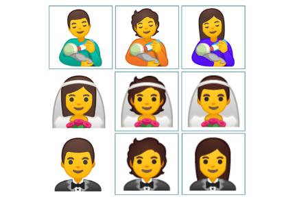 Unicode Emoji 13 или новые эмоции на Android 11