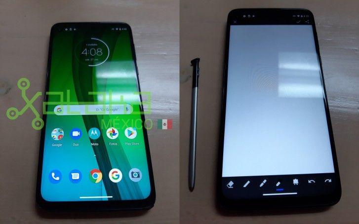 Moto G Stylus - новые фотографии смартфона Motorola со стилусом
