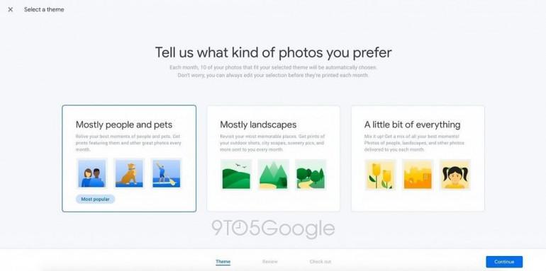 Google тестирует платный сервис Photos - печать выбранных фотографий