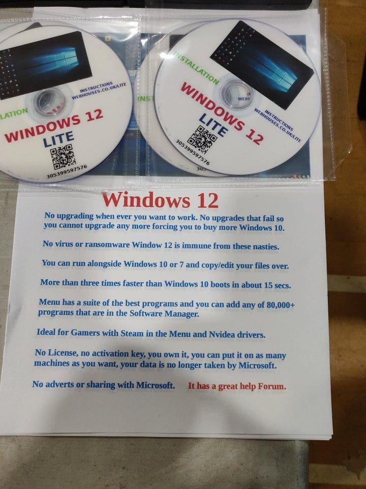 Windows 12 Lite - это не шутка, такую систему можно купить