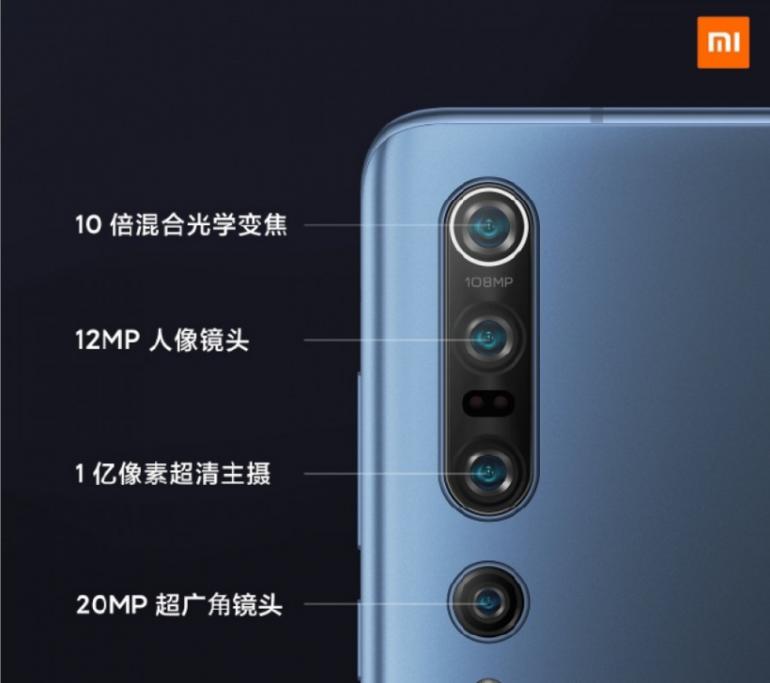 Xiaomi Mi 10 и Xiaomi Mi 10 Pro - официальная спецификация