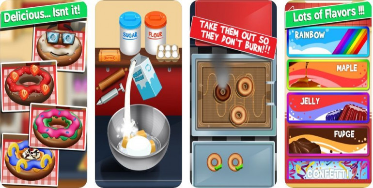Игры, в которых можно праздновать Жирный четверг, то есть пончики без калорий