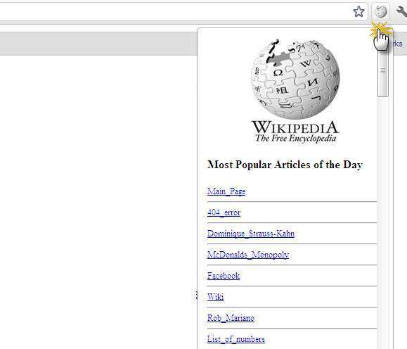 Wikipedia– Most Popular Articles